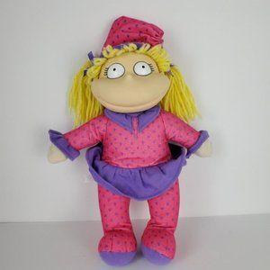 Vintage Rugrats Bedtime Angelica Plush Stuffed…